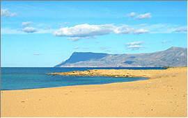 Kastelli Kissamos: Beach of Trahilos (East side)